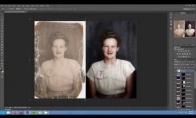 Kaip atukuriama ir nuspalvojama sena nuotrauka