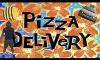 Video pagal sceną iš Kempiniuko apie picos pristatymą