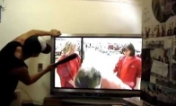 Kaip pataisyti televizorių su beisbolo lazda