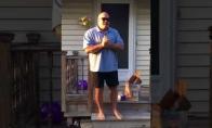 Vyras pirmą kartą per 66 metus pamato spalvas