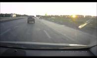 Netikėta kliūtis greitkelyje
