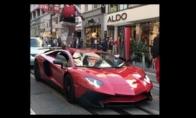 Idiotas gauna pamoką už lakstymą per Lamborghini