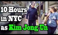 Kim Jong Un vaikštinėja Niujorko gatvėmis
