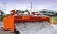 Mašina, spausdinanti kelią