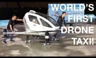 Pirmas pasaulyje dronas-taksi