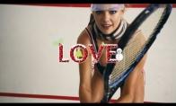 Karštas tenisas su Kate Upton