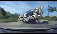 Cementovežio avarija