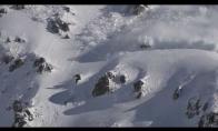 Pabėgimas nuo sniego lavinos