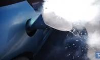 Ar važiuos automobilis užpylus jo baką skystu azotu?