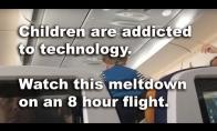 Psichinis vaikas lėktuve