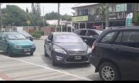 Neįtikėtina Ford parkavimo sistema