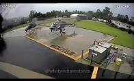 Policijos sraigtasparnių susinaikinimas