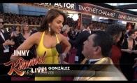 Smagiausias žurnalistas Oskarų ceremonijoje