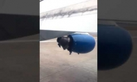 Vaizdas, kurio nenorėtumėt pamatyti skrisdami lėktuvu