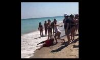 Nepavykęs salto papludimyje