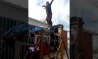 Išradinga vaikų karuselė