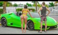 Barakuda palieka vaikiną dėl bičo su Lamborghini