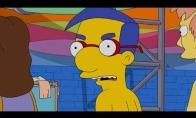 Simpsonai: Pirmas tikras bučinys