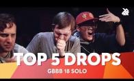 5 geriausi drop'ai iš 2018 metų didžiojo beatbox'erių turnyro