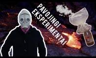 Pavojingi eksperimentai: ugnies gyvatė, degių dujų balionas, anglies vulkanas