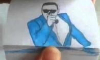 """Pieštinis """"Gangnam Style"""" klipas"""
