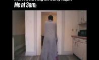 Kai nusprendi anksti eiti miegoti, tačiau taip ir nepavyksta to padaryti