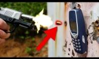 Nokia 3310 prieš pistoleto kulkas