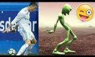 Ronaldo, Neymaras ir MArcelo šoka DameTuCosita šokį