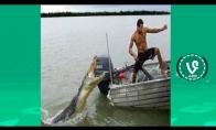 Pabandyk nesijuokti challenge su žvejyba