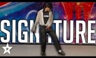 Maiklo Džeksono šokis Britų talentuose 2008-aisiais metais
