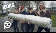 Didžiausia dūmų bomba (100 kg)