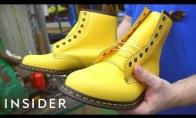 Kaip gaminami Dr. Martens batai
