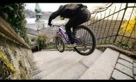 Kai važiuoji pasivažinėti su dviračiu į gatvę