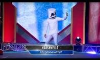 Marshmello dalyvauja American Ninja Warrior laidoje