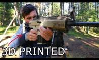Ginklas, pagamintas 3D spausdintuvu