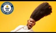 Bičas, turintis aukščiausią šukuoseną pasaulyje ir Gineso rekordo titulą