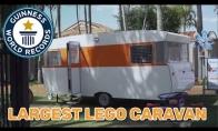 Didžiausias Lego karavanas pasaulyje