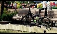 Pokštas: Nematomas dviratininkas