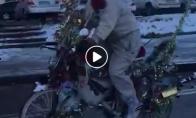 Kalėdinis dviratis