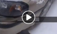 Kam valyti sniegą, jeigu galima jį nupūsti?