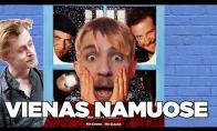 VIENAS NAMUOSE filmo recenzija su Klajūmu