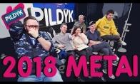 Geriausios 2018 metų Pildyk veikėjų akimirkos