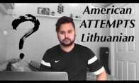 Amerikietis mokinasi lietuvių kalbos