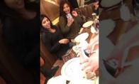 Sugadintas gimtadienis restorane