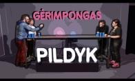 Pildyk veidai ir AntanasJ žaidžia Gėrimpongą