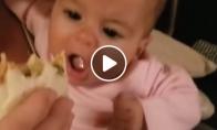 Godus vaiko žvilgsnis į maistą