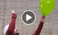 Labai garsus baliono susprogdinimas