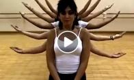 Plastiškas merginų šokis