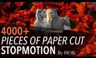 Popieriaus kirpimo menas: Šokis