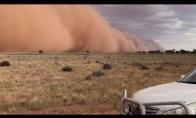 Didžiulė smėlio audra Australijoje